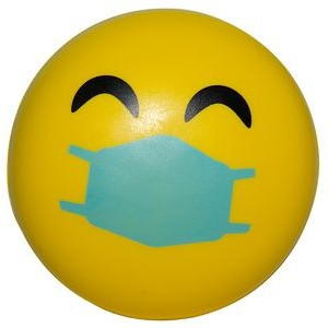 Happy PPE Emoji Squeezies� Stress Reliever