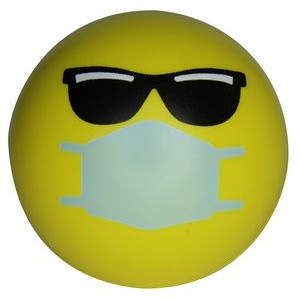 Cool PPE Emoji Squeezies� Stress Ball