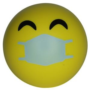 Happy PPE Emoji Squeezies� Stress Ball